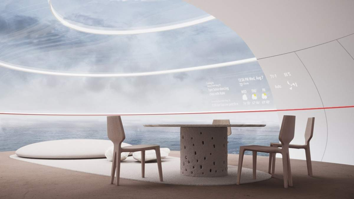 Проект футуристического офиса от Yakusha Design