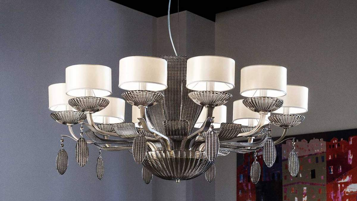 Виды круглых люстр – как правильно подобрать освещение для дома
