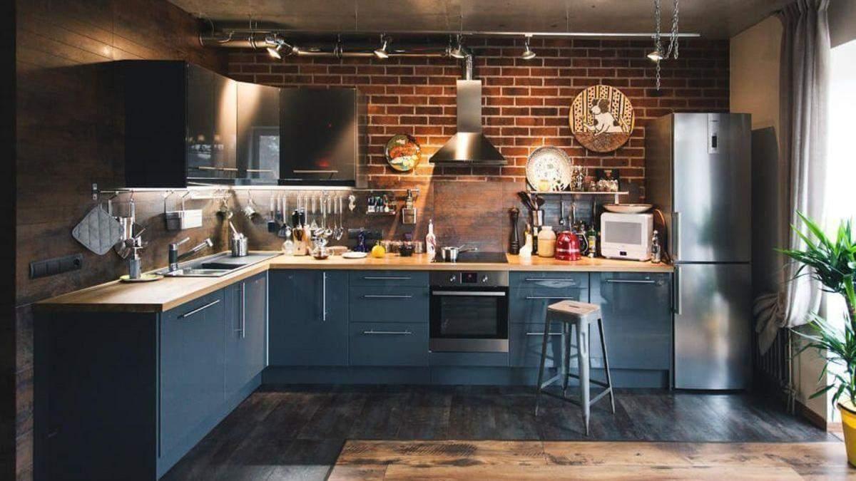 Кухня в стилі лофт 2019 – як зробити своїми руками в хрущовці