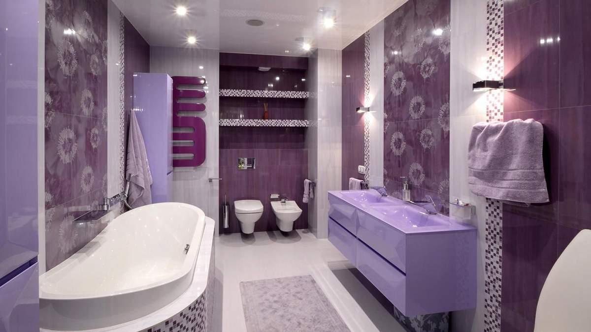 Ванна в фіолетових тонах 2019 – як правильно зробити ремонт ванної