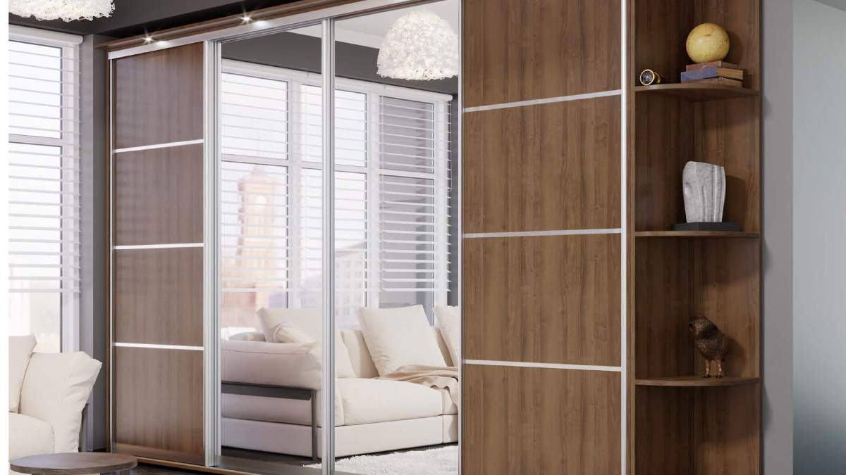 Шкафы-купе – виды раздвижных систем, типы дверей