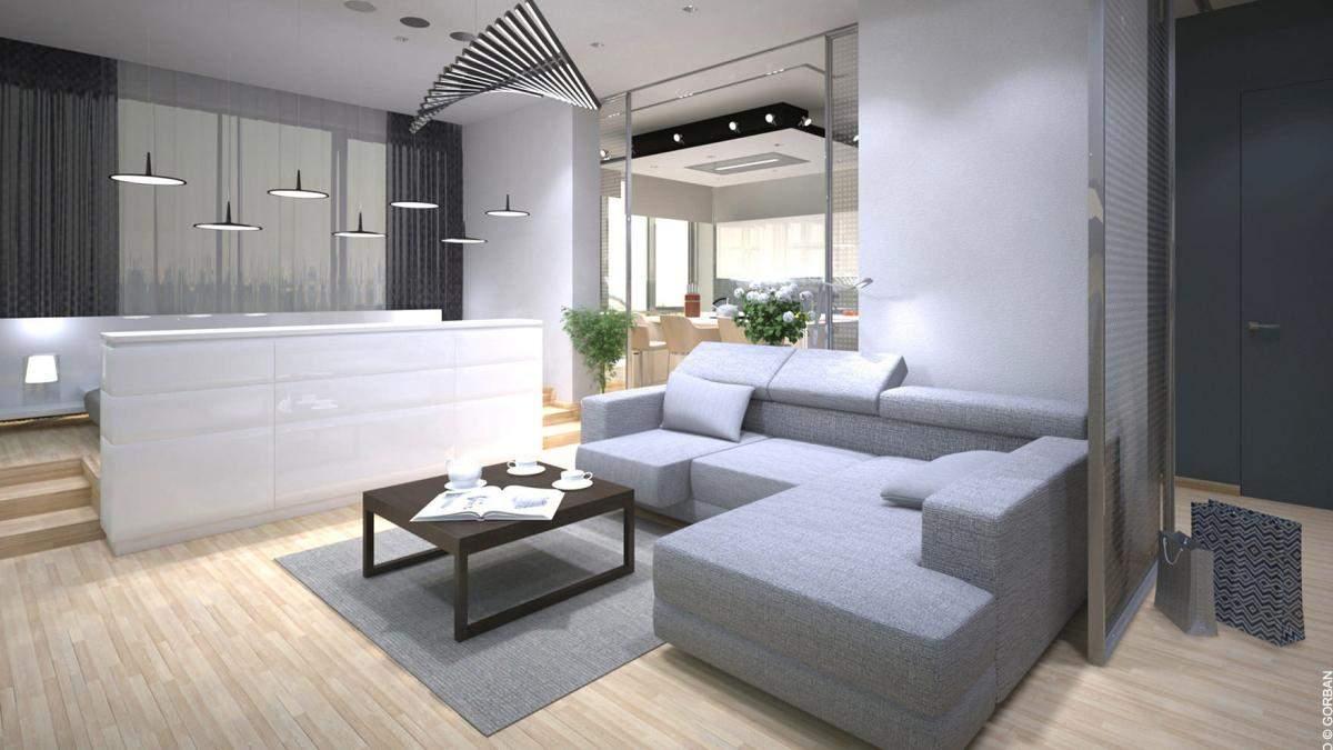 Однокімнатна квартира 2019 – планування інтер'єру, зонування