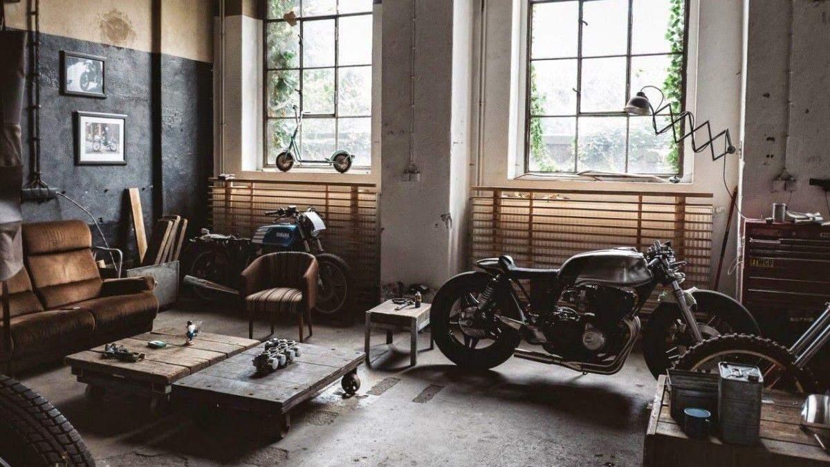 Дизайн гаража в стилі лофт: покрокове облаштування