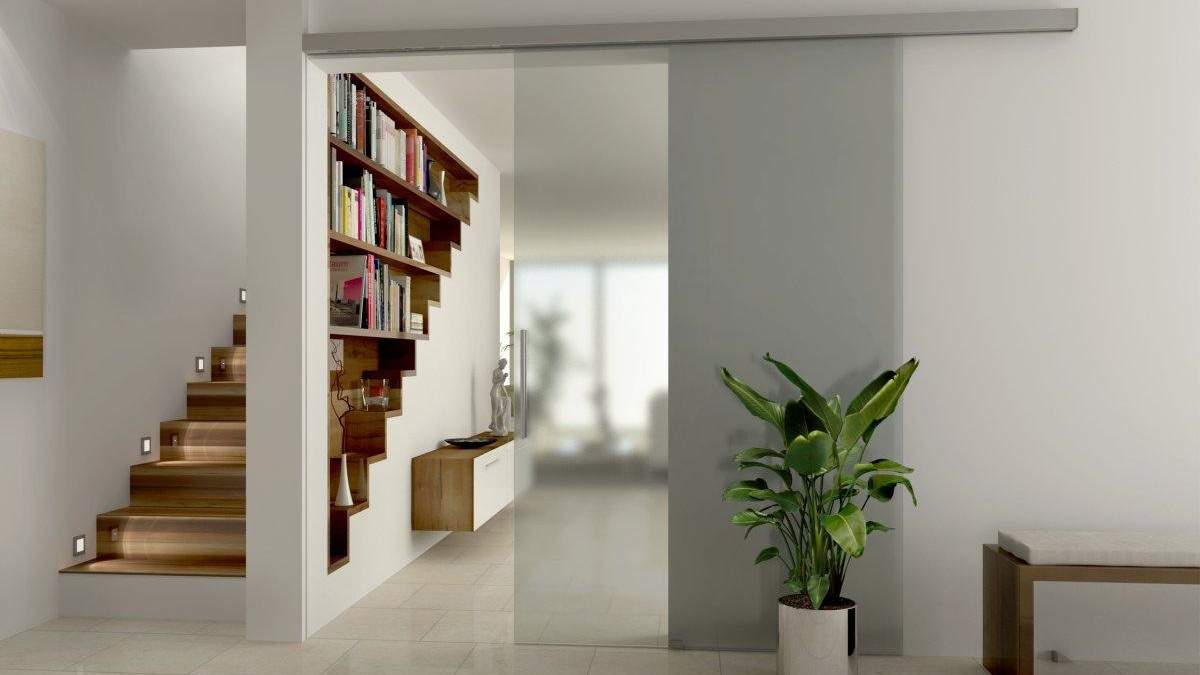 Раздвижные двери в доме: виды и особенности конструкции – фото