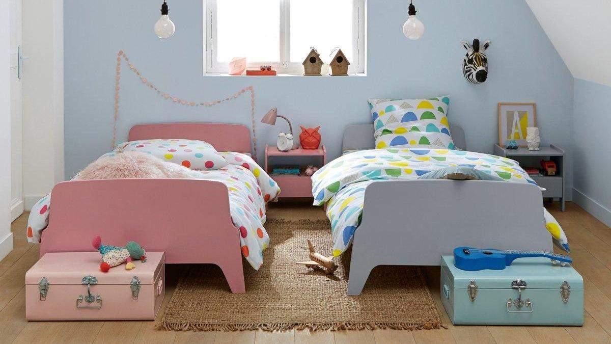 Облаштування дитячої кімнати для хлопчика та дівчинки: як правильно поділити кімнату