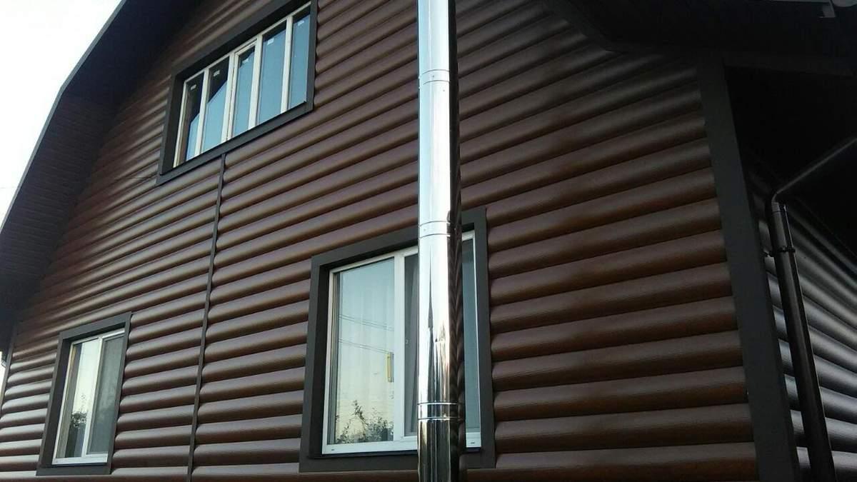 Панелі для фасаду будинку – види обробки, фото