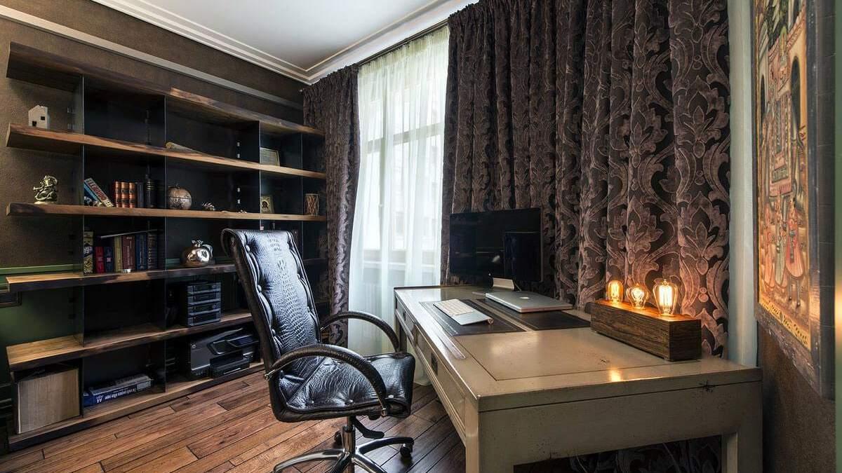 Дизайн кабінету вдома – про що не можна забувати та які стилі будуть доречними