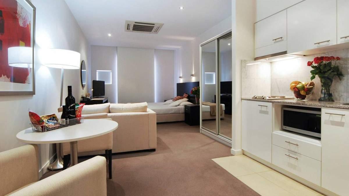 Квартира-студія – плюси і мінуси: ідеї планування