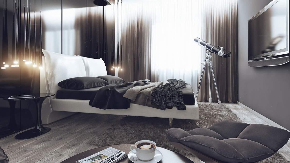 Спальня в стилі хай-тек: критерії та особливості дизайну