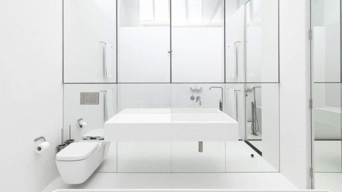 Ванная в светлых и белых тонах – дизайн, фото интерьера