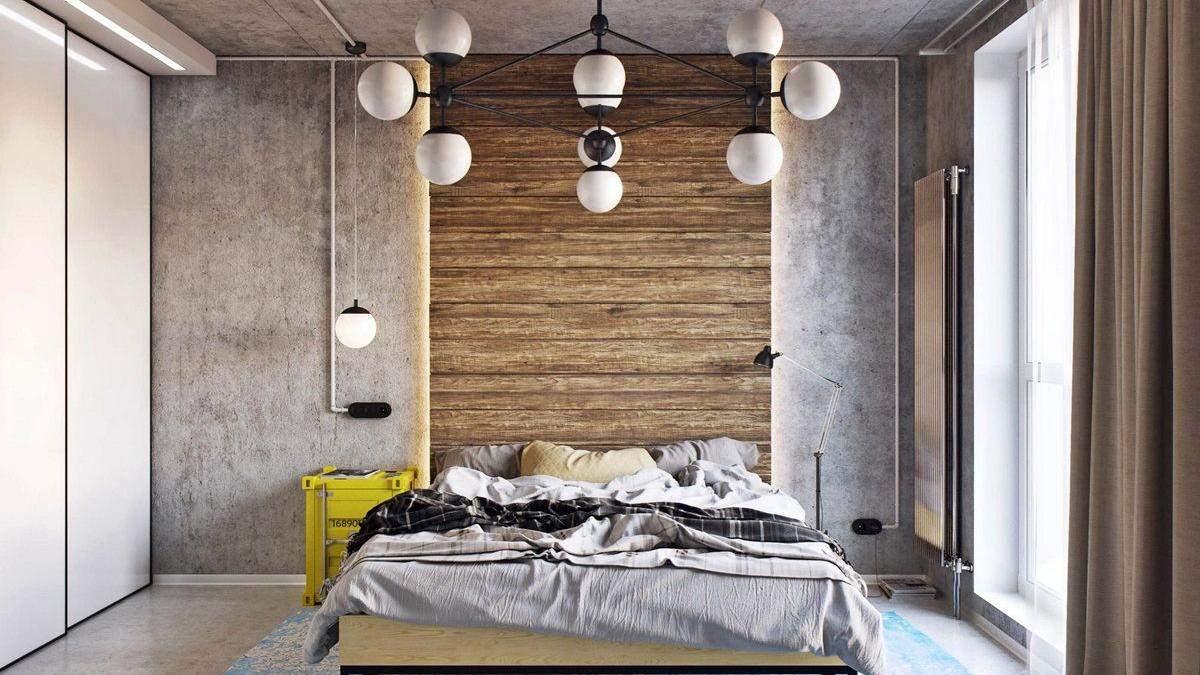 Спальня в стилі лофт: що варто врахувати та які меблі вибрати