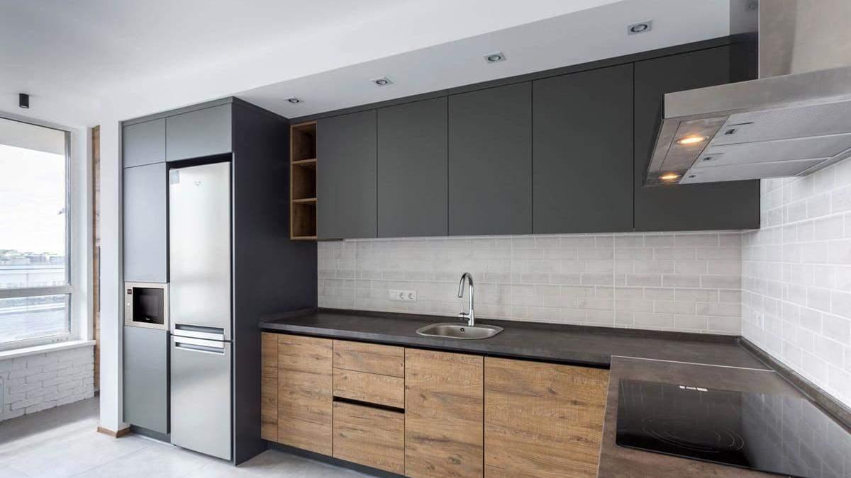 Кухня в стилі мінімалізм в хрущовці 2019 – особливості, фото інтер'єру