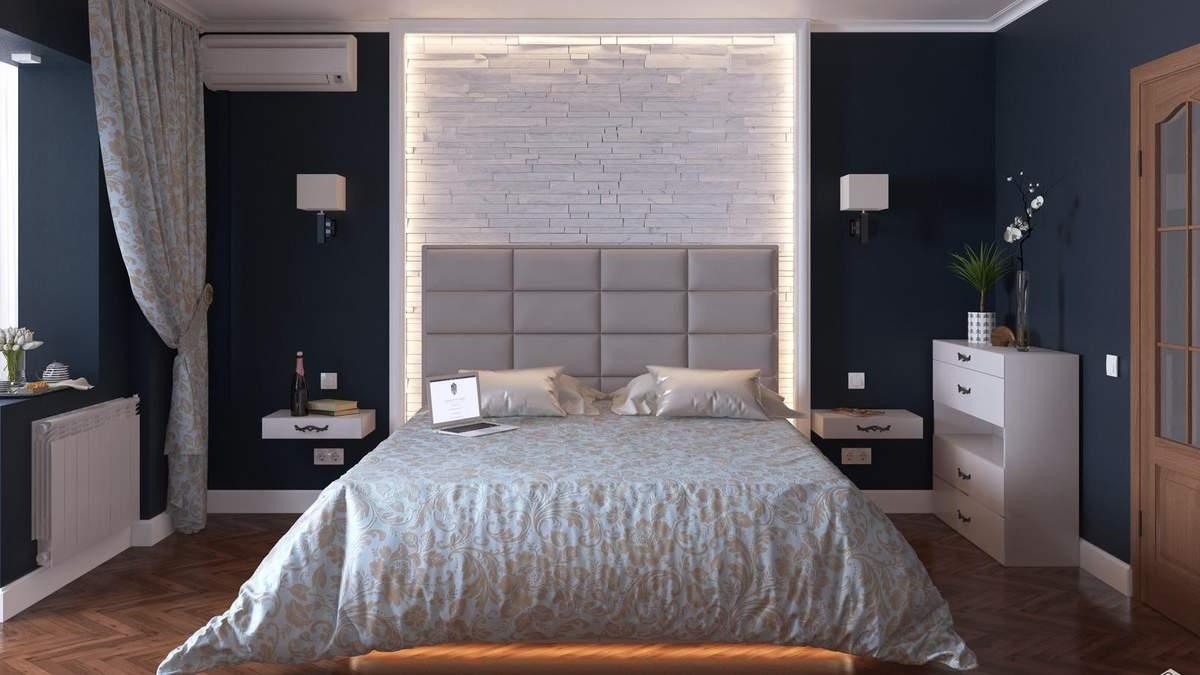 Спальня в стилі модерн 2019 – оформлення, фото інтер'єру