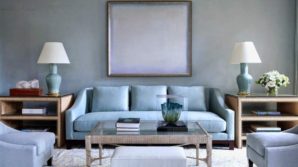 Дизайн вітальні – кольорова гамма: поєднання кольорів, фото
