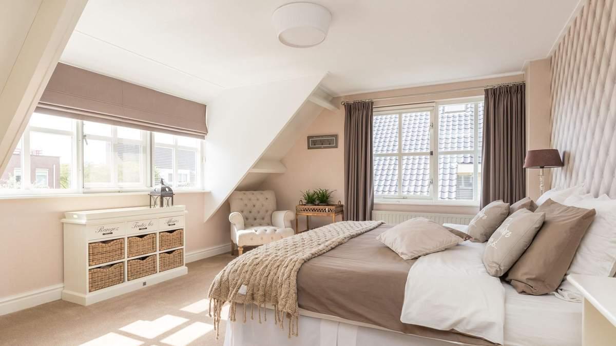 Кімната під дахом – дизайн, інтер'єр, фото