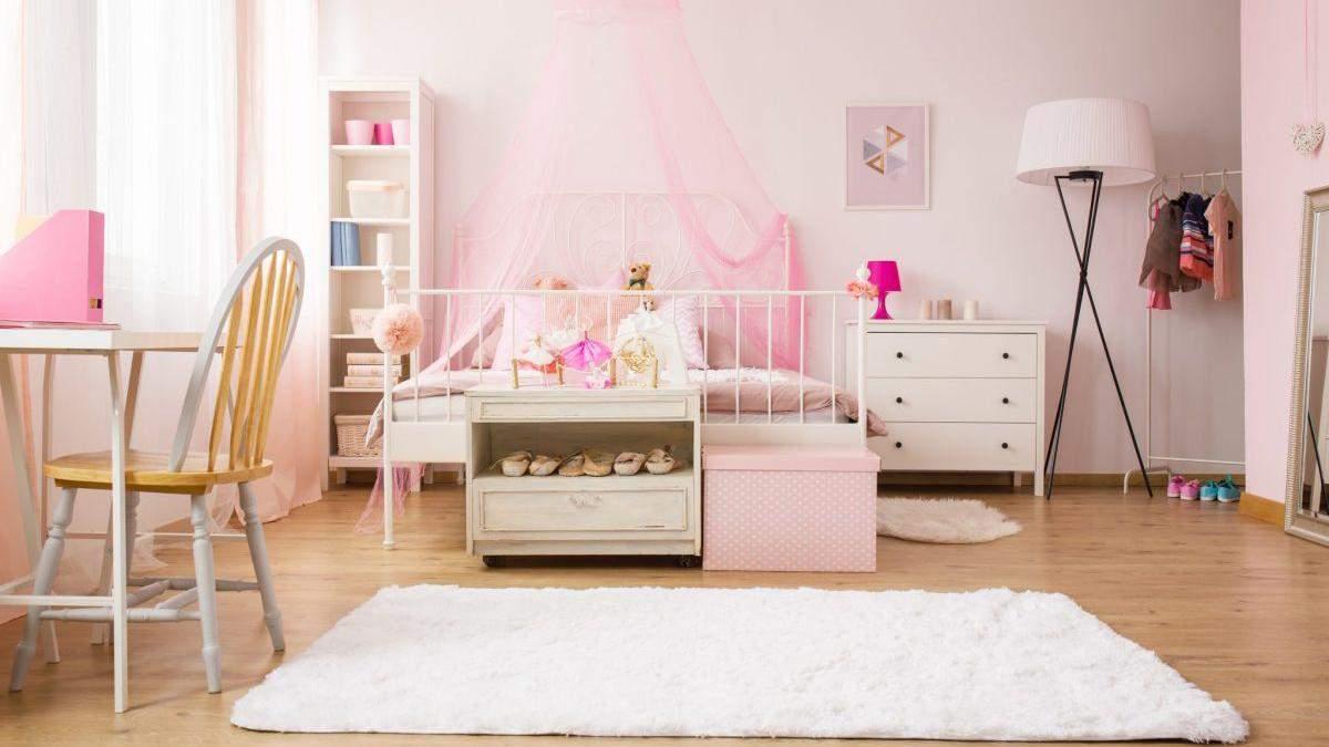 Дизайн дитячої кімнати для дівчинки з фото – класика, прованс