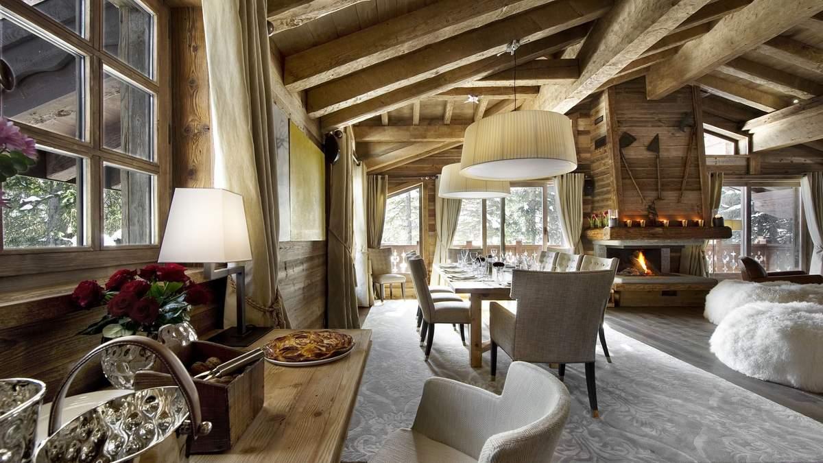 Інтер'єр вітальні в стилі кантрі: особливості та що варто врахувати