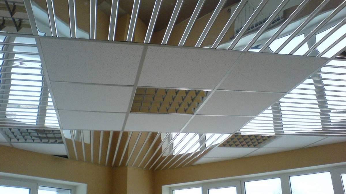 Рейкові стелі застосовують у різних кімнатах