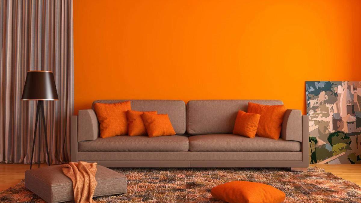 Покраска стен в гостиной – сочитание цветов, этапы