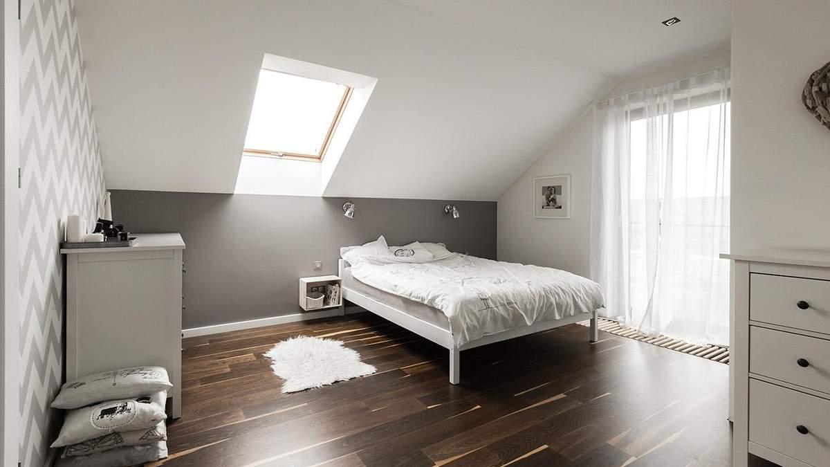 Кімната на горищі під дахом – дизайн кімнати з низькою стелею