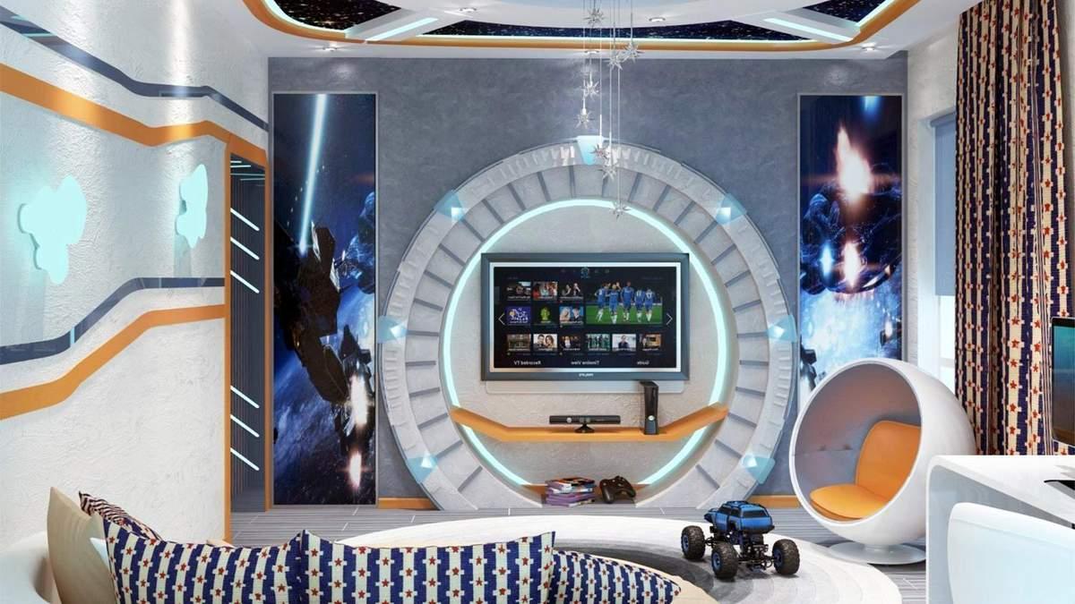 Модні елементи декору в космічному стилі – фото