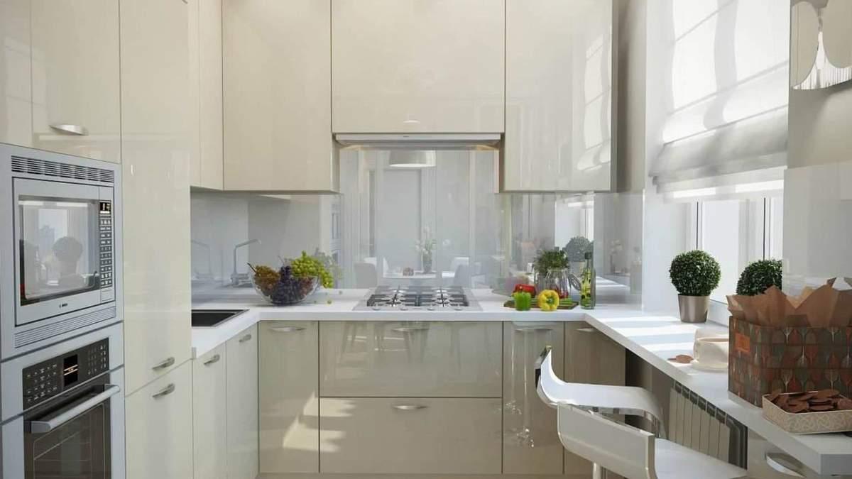 Дизайн маленькой кухни – фото идеи, интерьер маленькой кухни