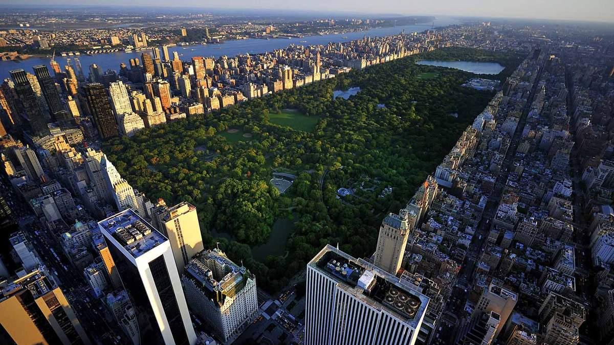 Дома вокруг Центрального парка обойдутся недешево