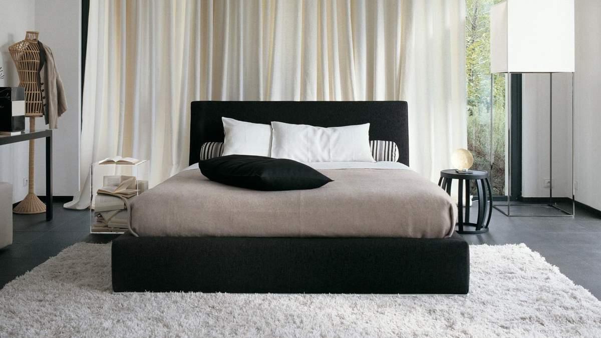 Як правильно вибрати килим в спальню – дизайн, матеріали для килима