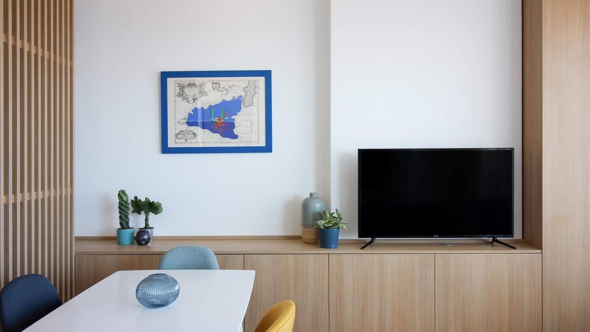 Яскравий мінімалізм: в центрі Палермо завершили комплекс із трьох квартир – фото