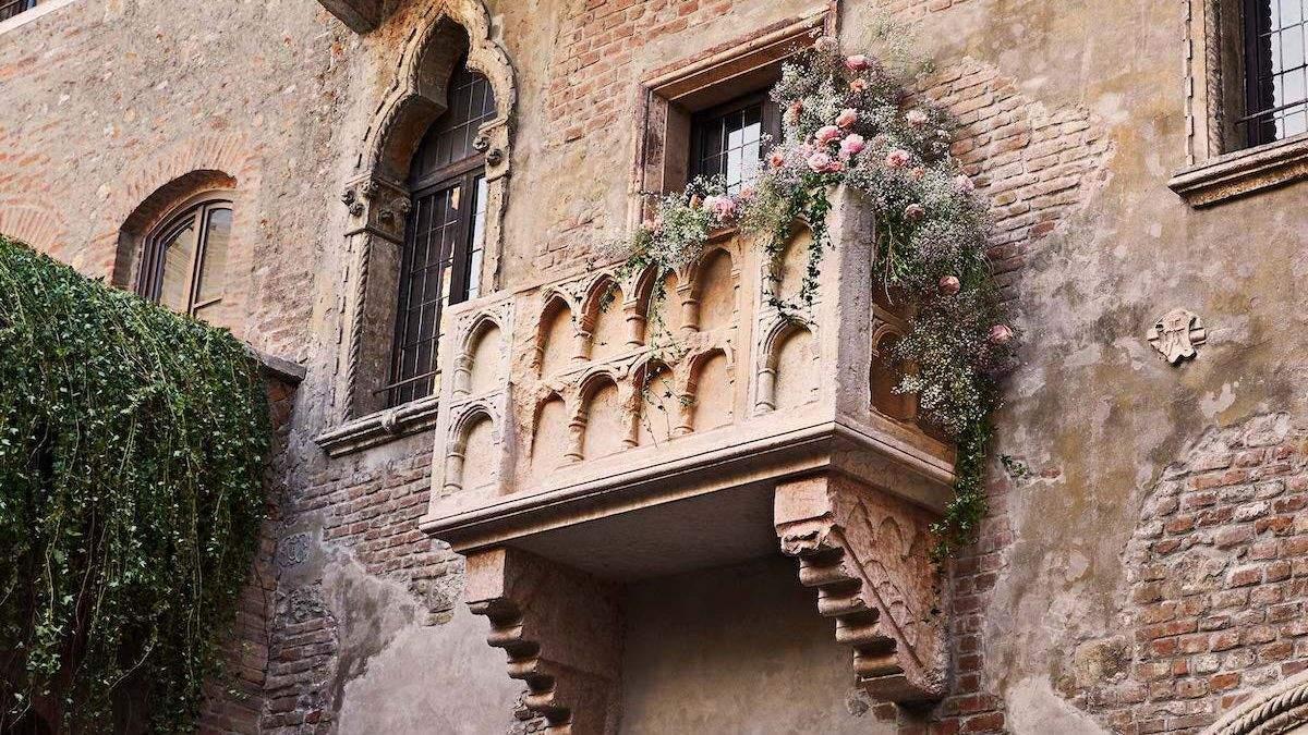 Славнозвісний балкон Джульєтти