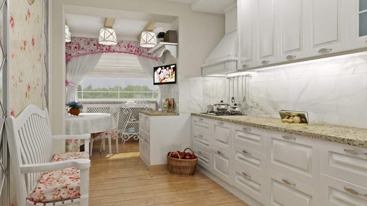 Кухня в стиле прованс: особенности, цвета и мебель в интерьере
