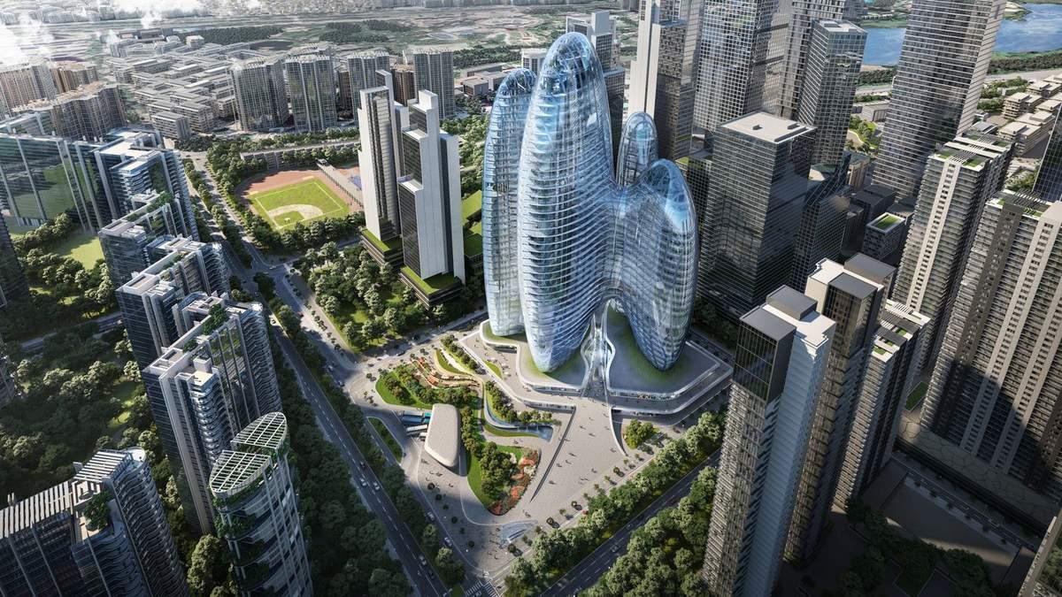 Відоме архітектурне бюро розробить дизайн штаб-квартири виробника смартфонів у Китаї – фото