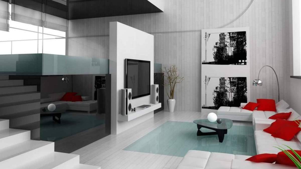 Квартира в стиле хай-тек своими руками – детали интерьера, фото