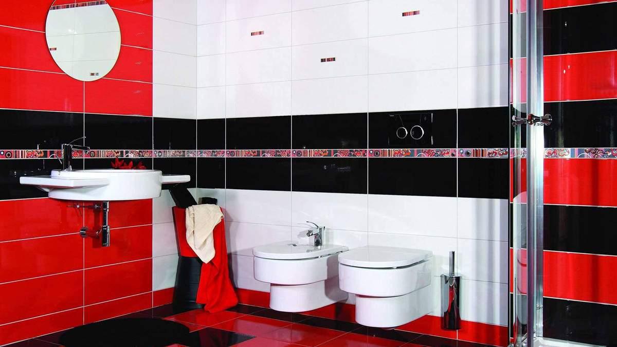Дизайн ванної кімнати в червоному кольорі: особливості та з якими тонами варто поєднувати