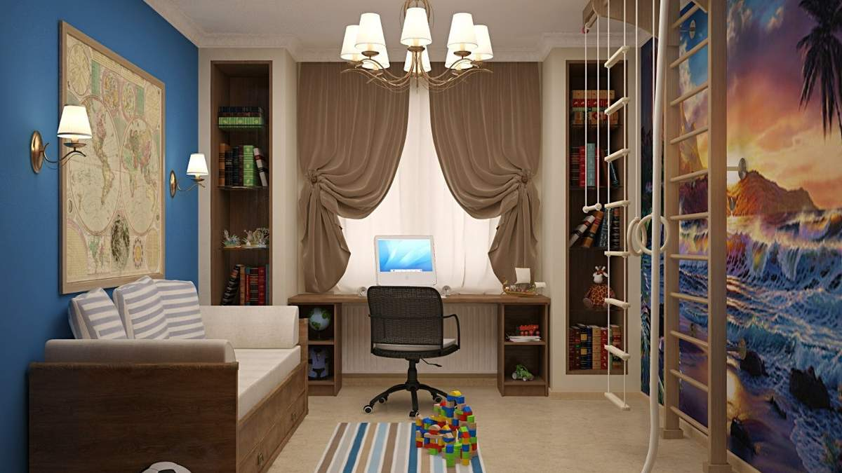 Дизайн детской комнаты 2020: советы дизайнера – фото