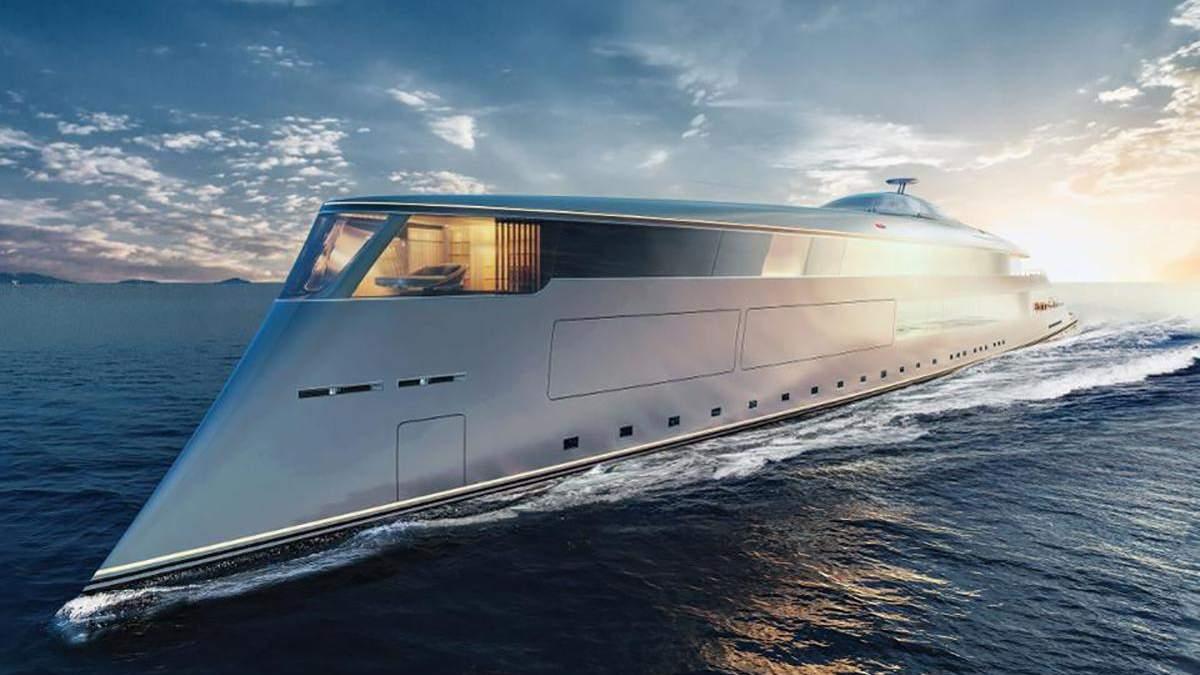 Білл Гейтс не купував унікальну екологічну яхту: фото та відео судна
