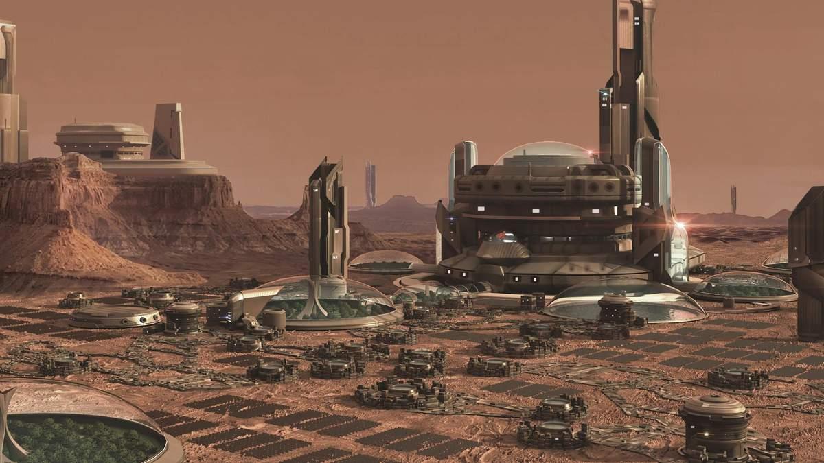 Уже не первый год на Марсе планируют построить город