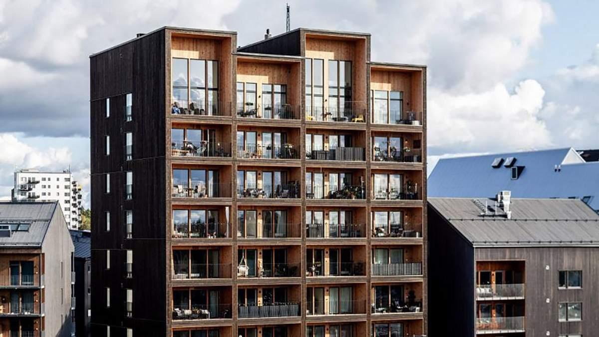 Найвища дерев'яна будівля у Швеції
