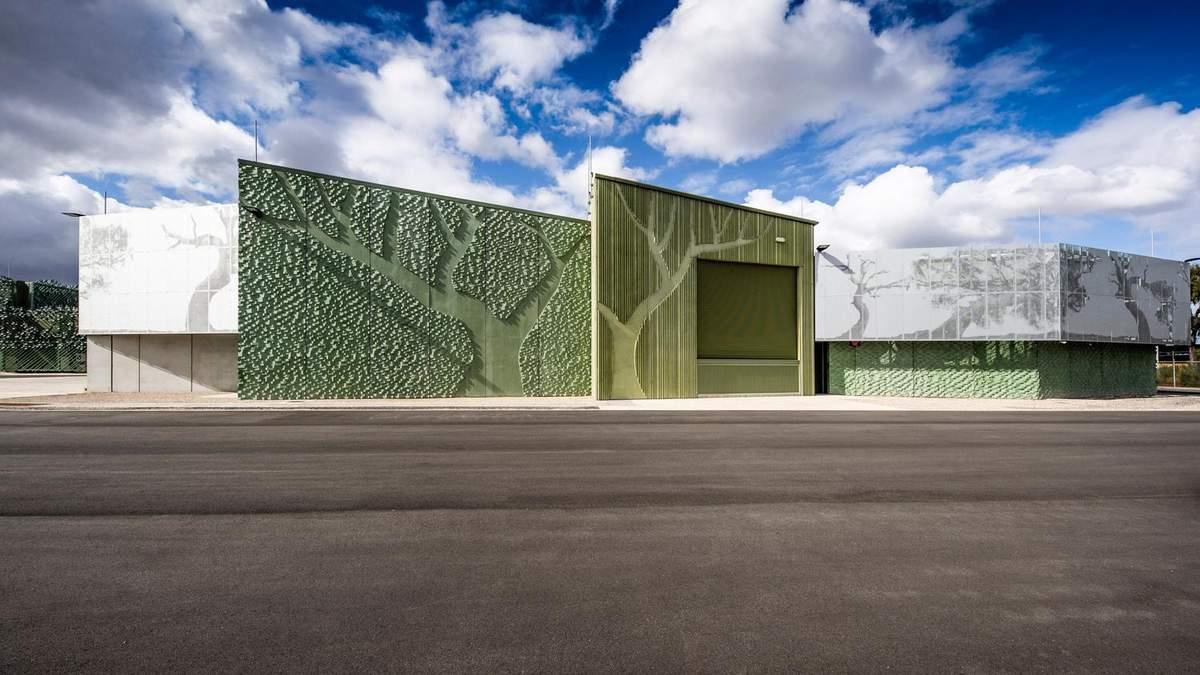 В Австралии построили терминал, фасад которого напоминает дерево – фото
