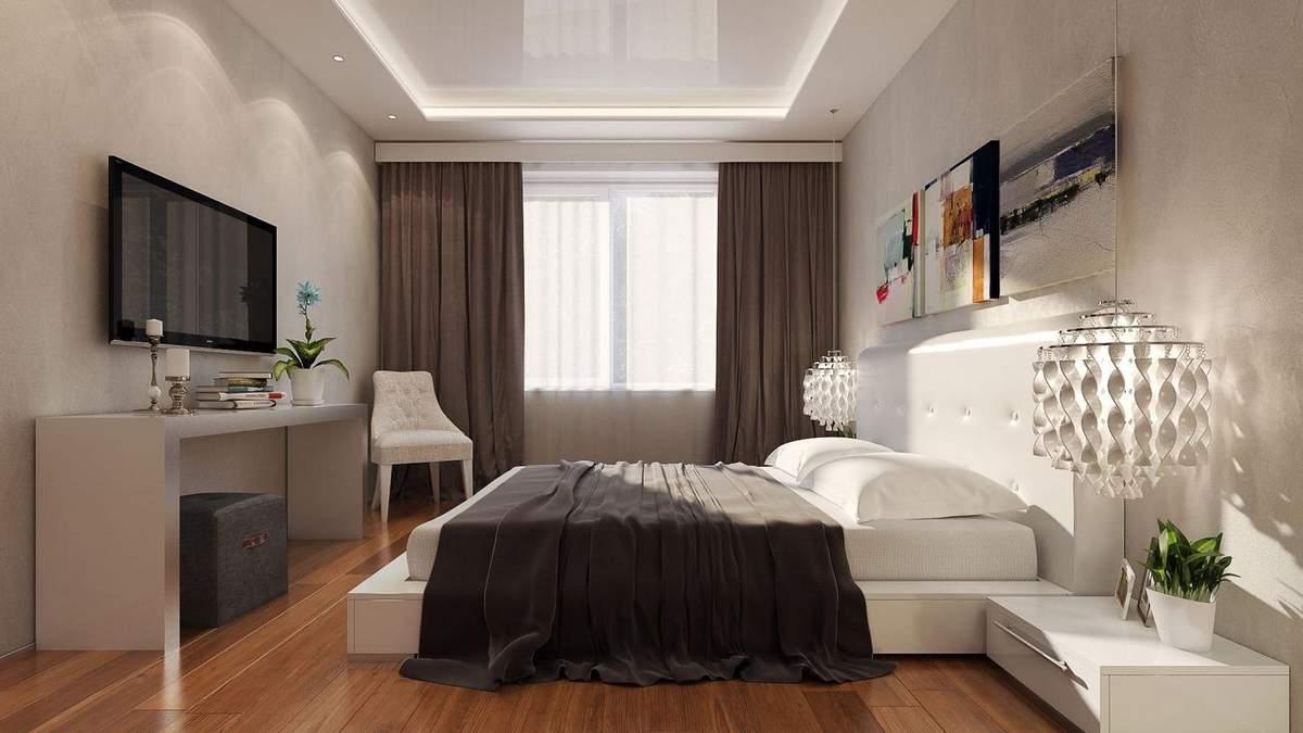Освещение спальни: особенности и базовые правила – фото