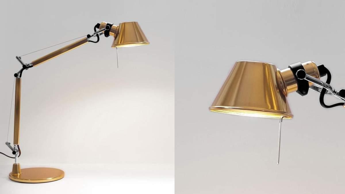 Настольная лампа, которой больше 30 лет, становится трендом в мире – фото