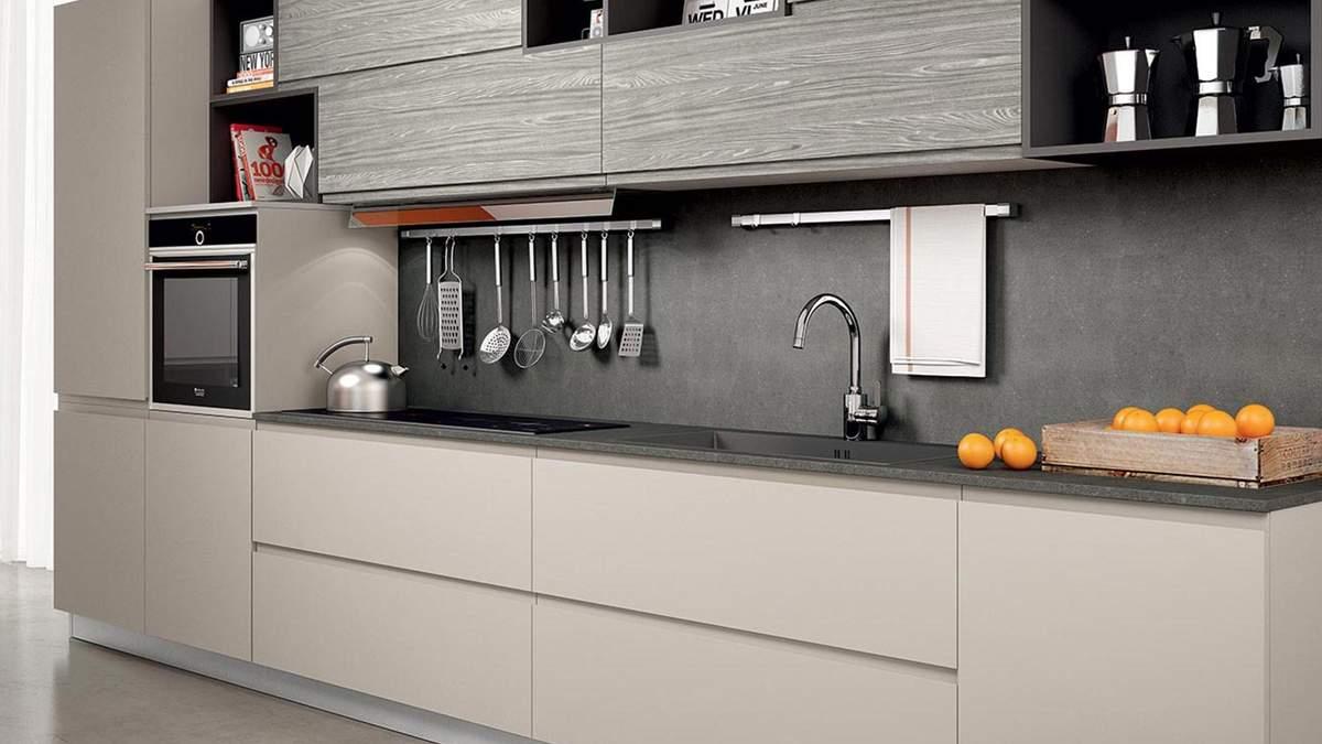 Кухня в стиле модерн: особенности оформления, цвета и освещение в интерьере – фото