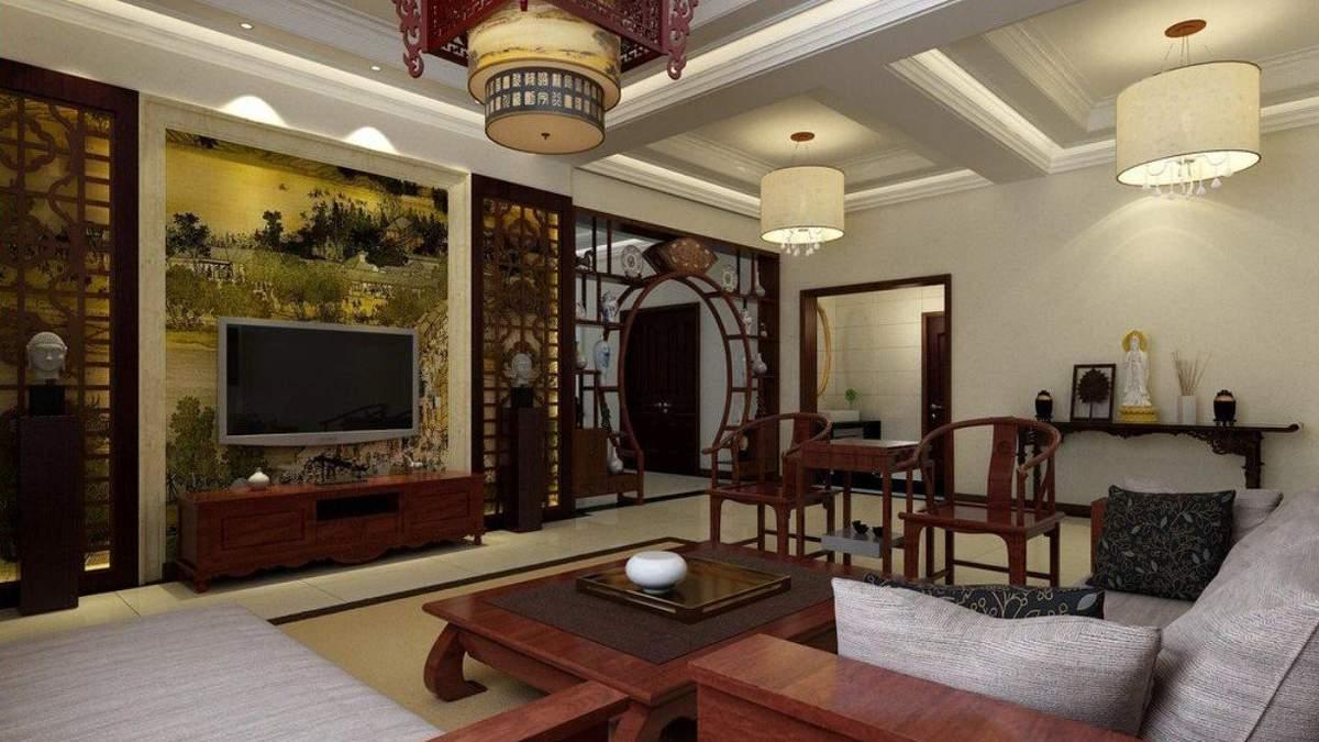 Стены в азиатских домах обычно имеют альтернативные способы облицовки