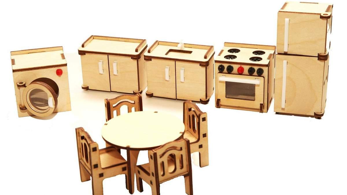 Дитяча кухня з картонних коробок стане відмінною ігровою зоною для дітей