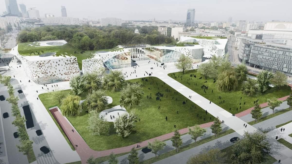 """Польська архітектурна компанія побудує футуристичний """"дірявий"""" будинок – фото"""