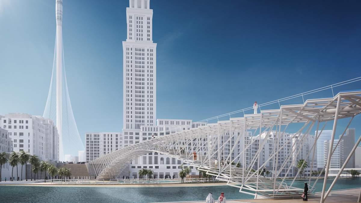 В Дубае построят пешеходный мост возле самого высокого здания мира – фото