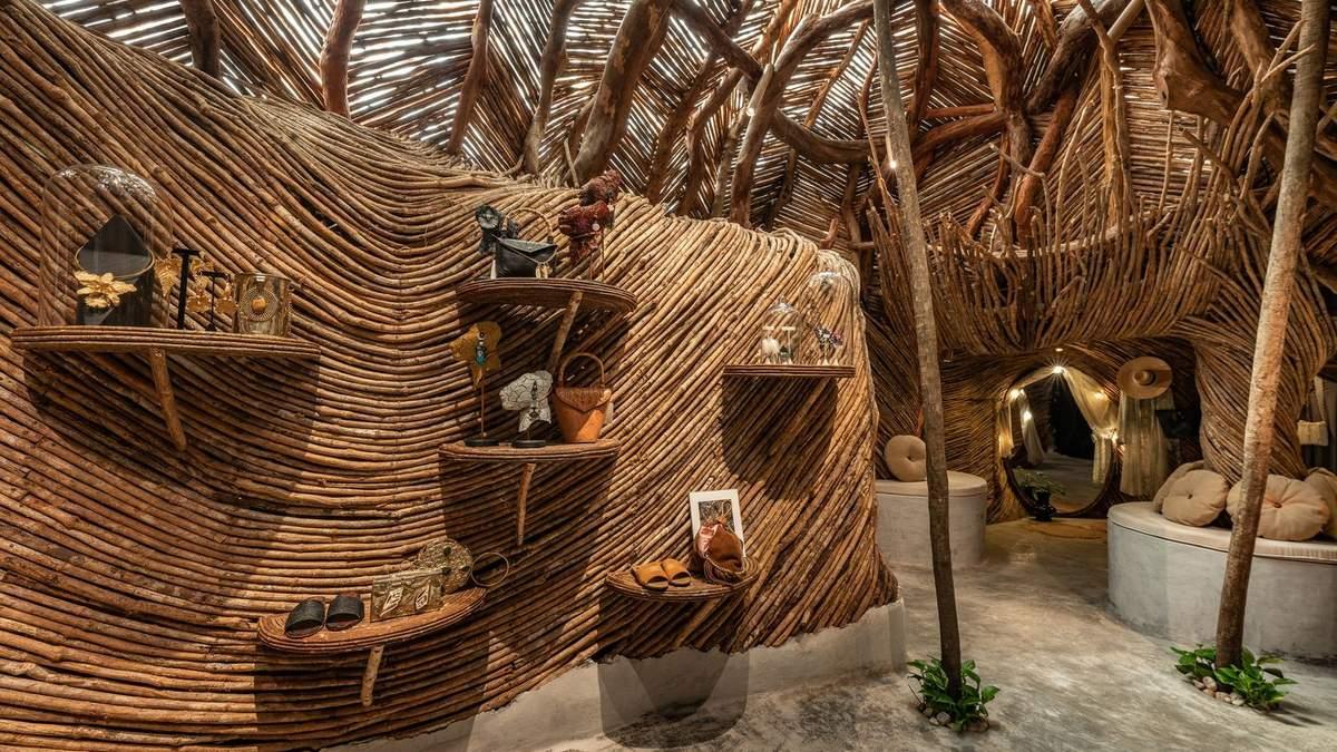 В Мексике обустроили магазин посреди джунглей – фото