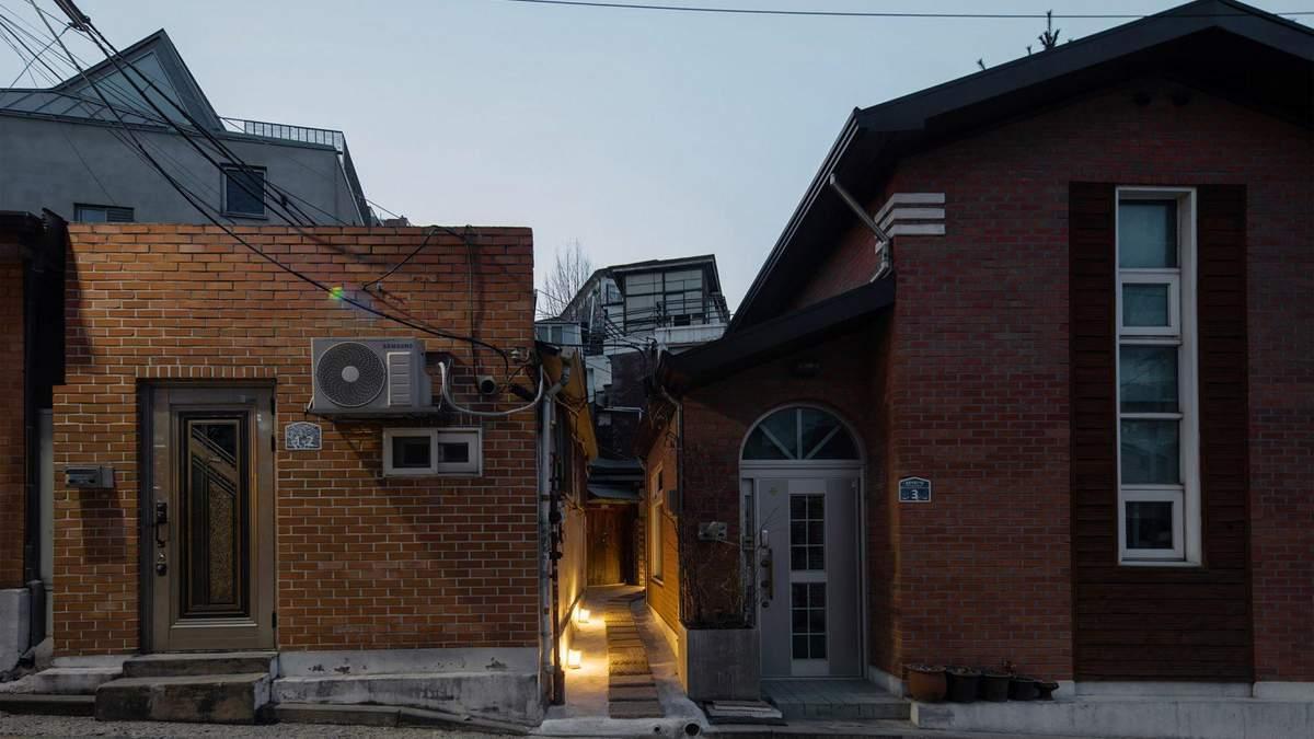 Крошечный отель расположен в Корее