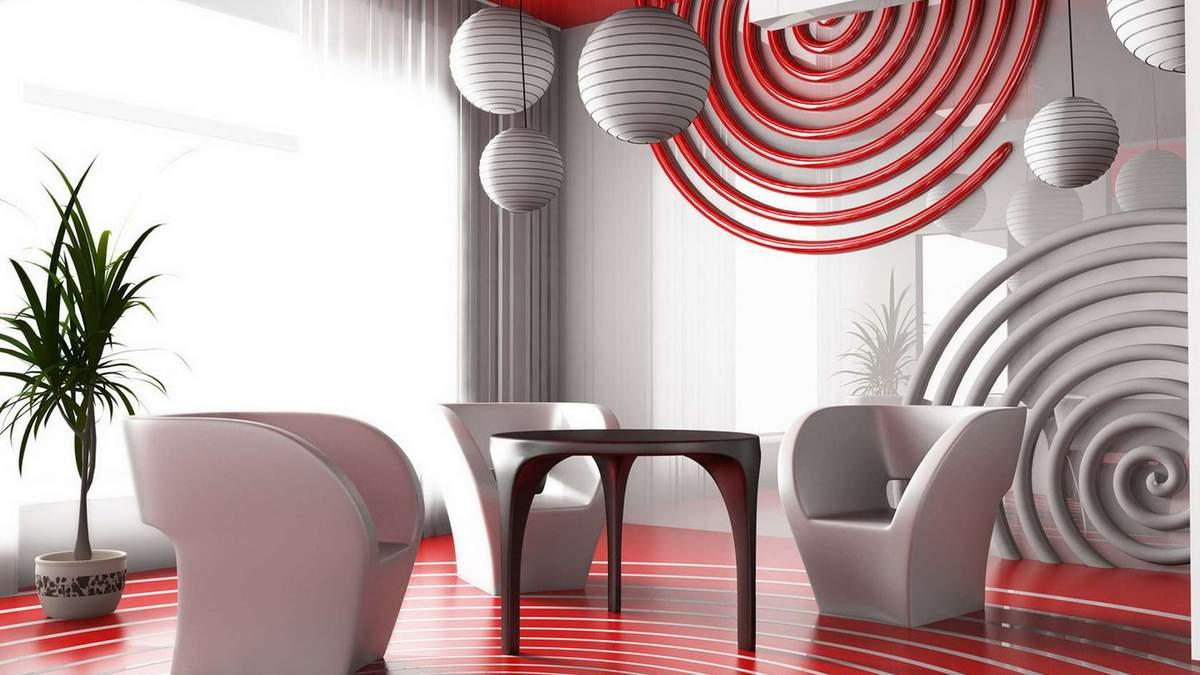 Интерьер в стиле авангард – дизайн, особенности авангарда