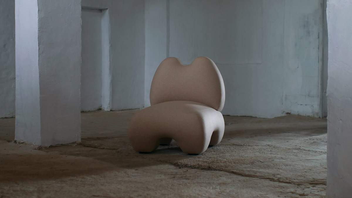 Украинский бренд Faina создал кресло, списанное с женских форм – фото